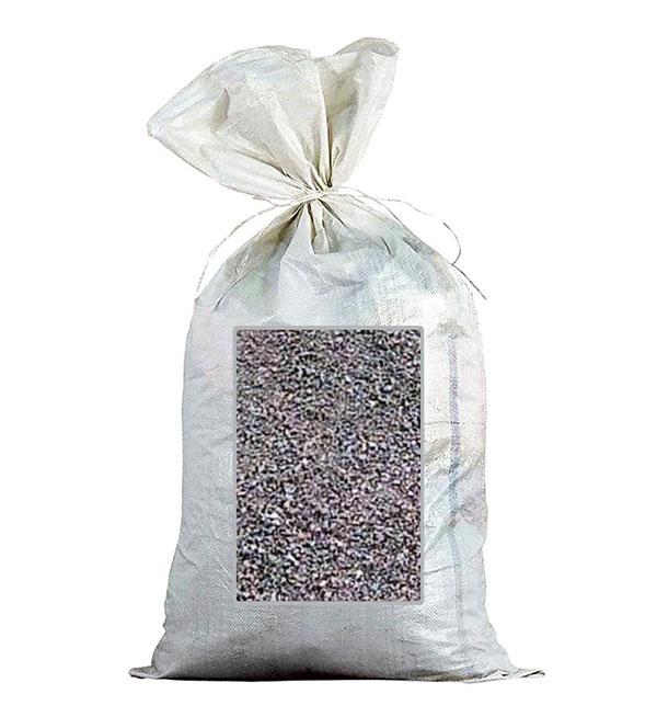 Гранитная крошка 0-5 мм для дорожек