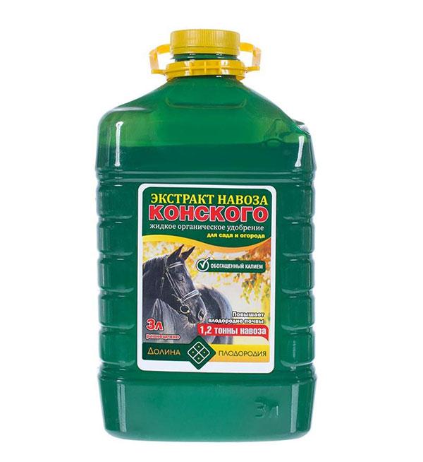 Жидкий экстрат концентрат конского навоза
