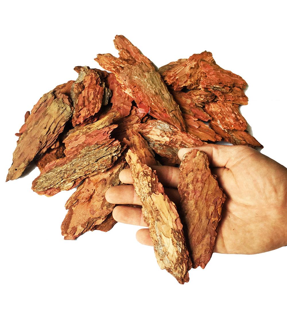 Кора лиственницы фр. 4-10 см