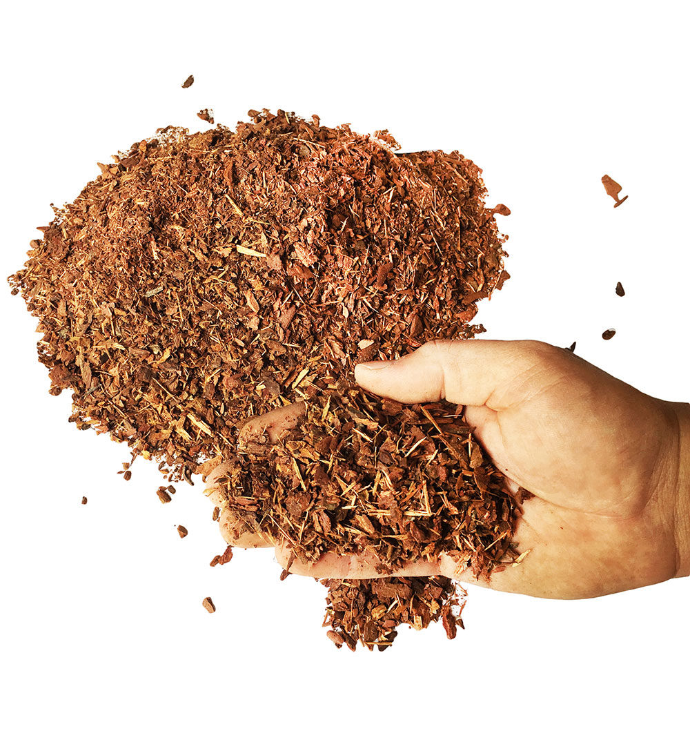 Кора лиственницы фр. до 1 см (гумус)